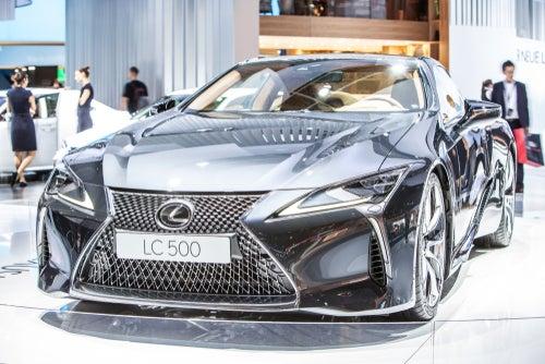 Lexus LC: una de las joyas de la marca japonesa
