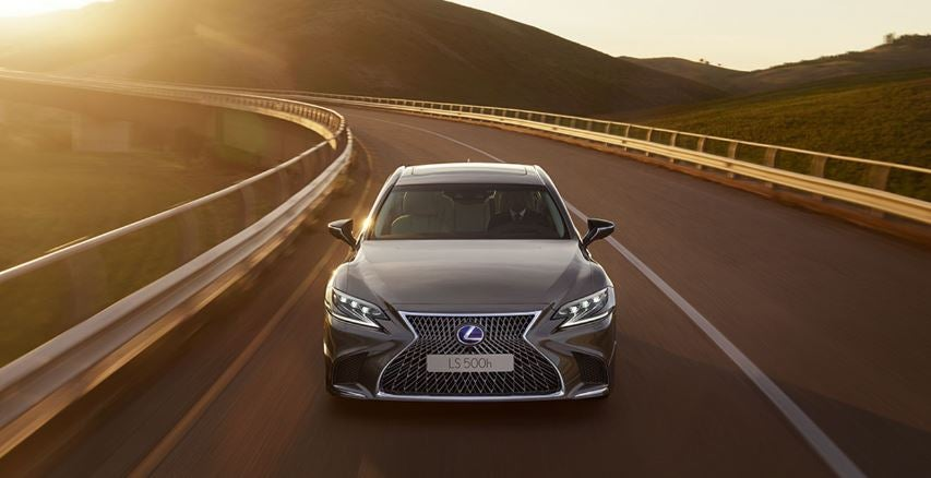 Lexus LS 2018 berlina híbrida