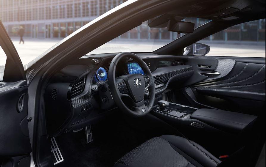 Buque insignia Lexus LS 2018 híbrido