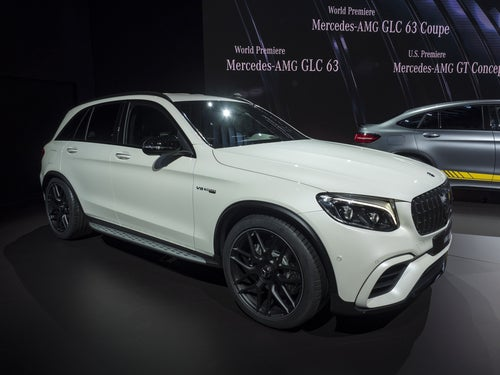 Mercedes AMG GLC 63: lateral