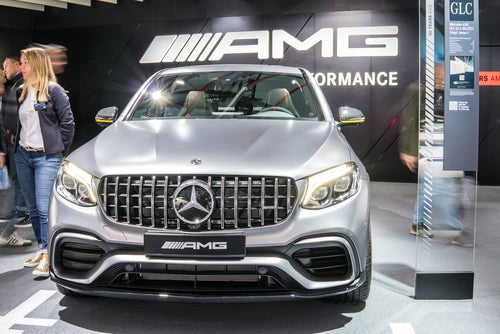 Mercedes AMG GLC 63 S: frontal