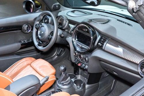 MINI cabrio: interior