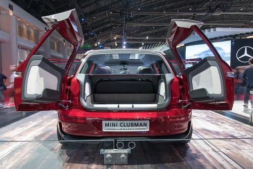 MINI Clubman 2017: maletero