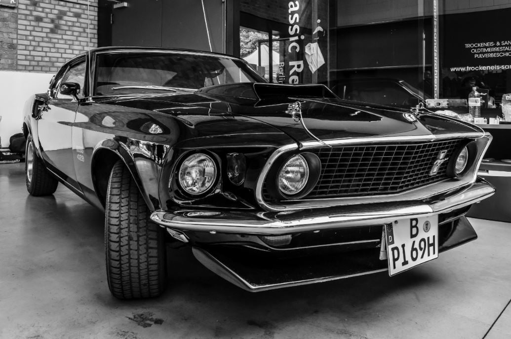 muscle car ford mustang 1964