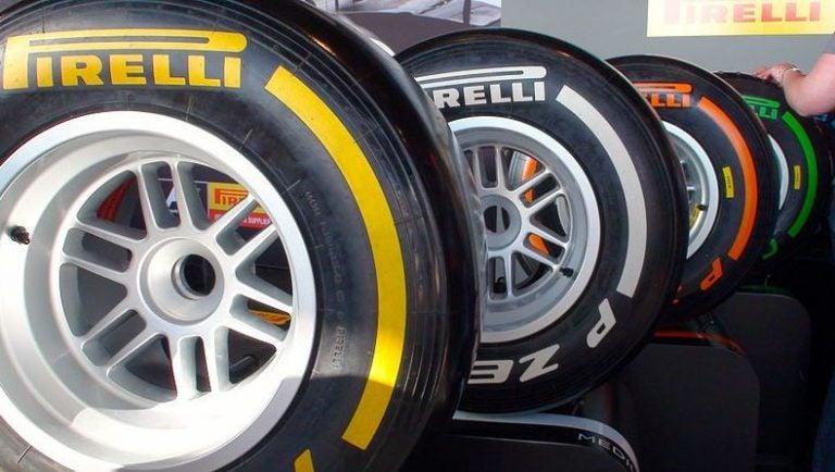 Neumáticos en la Fórmula 1