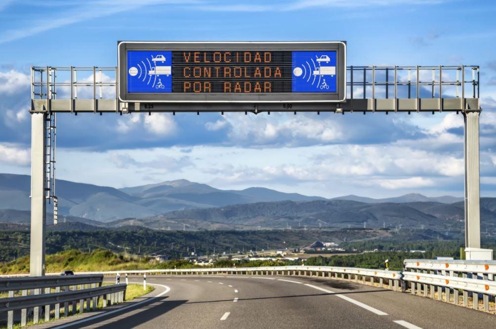 Los radares con más multas de España.