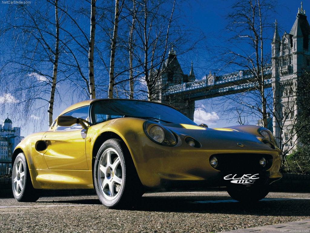 Roadster Lotus Eise S1 deportivo
