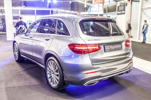 SUV 2017 Mercedes GLC: trasera