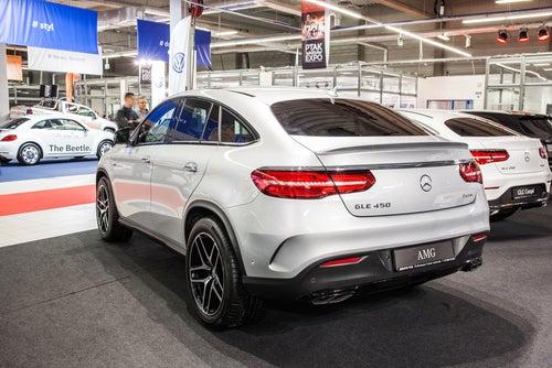 Todocamino o SUV Mercedes AMG GLE: trasera