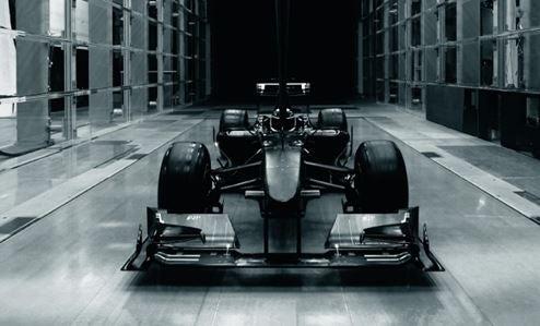 El túnel de viento y los Fórmula 1