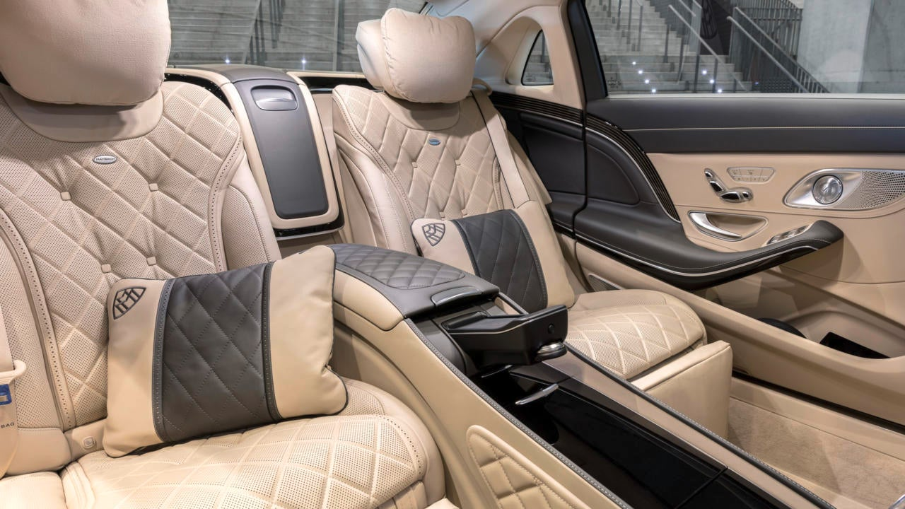 Berlina Mercedes Maybach Clase S: habitáculo
