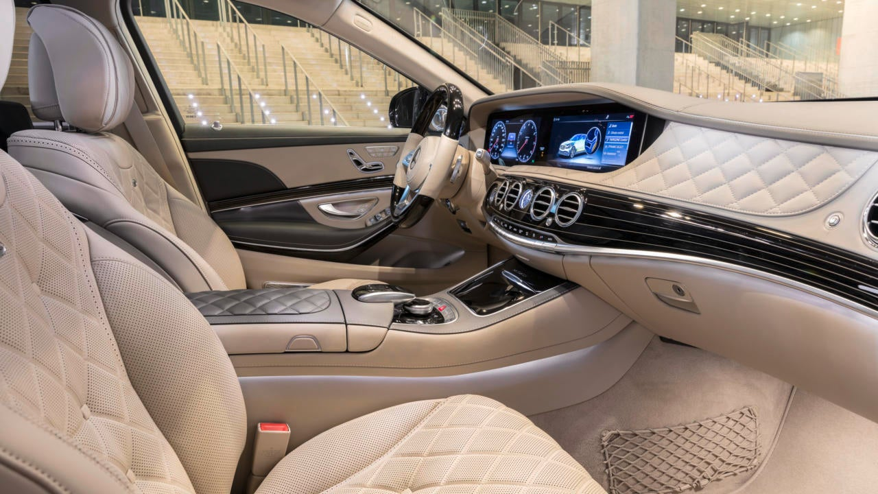 Berlina Mercedes Maybach Clase S: interior