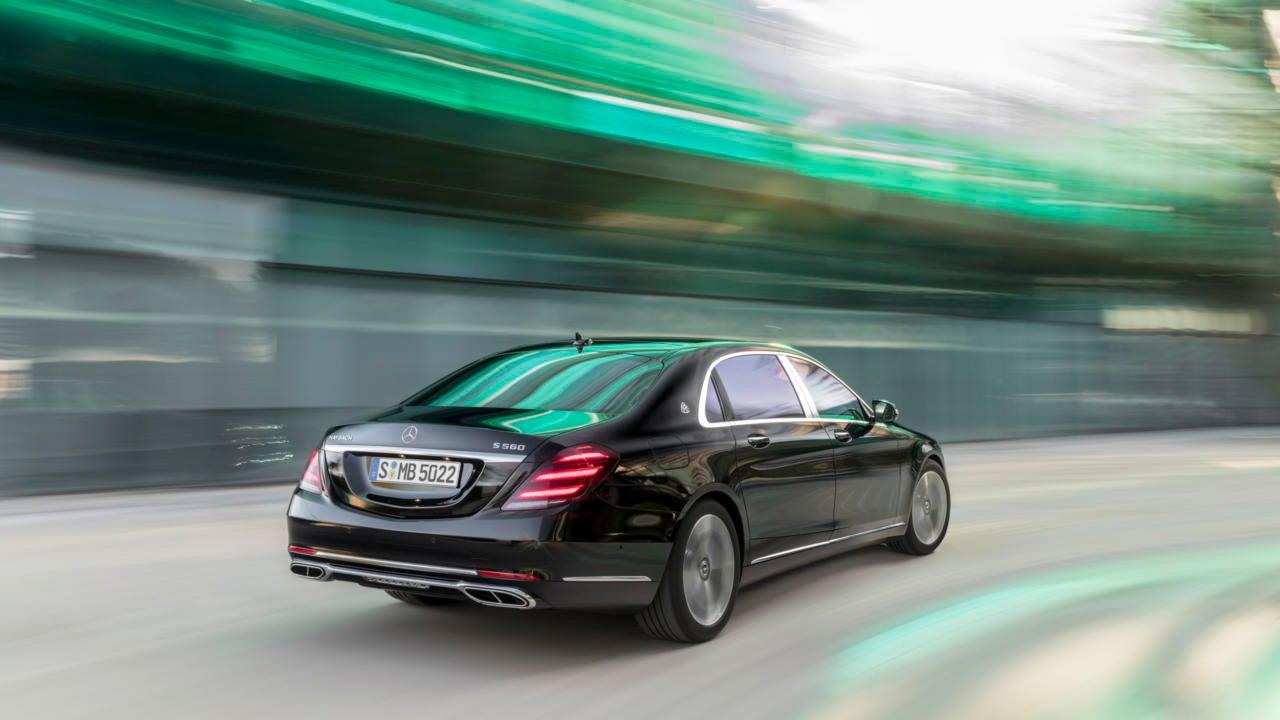 Berlina Mercedes Maybach Clase S: trasera