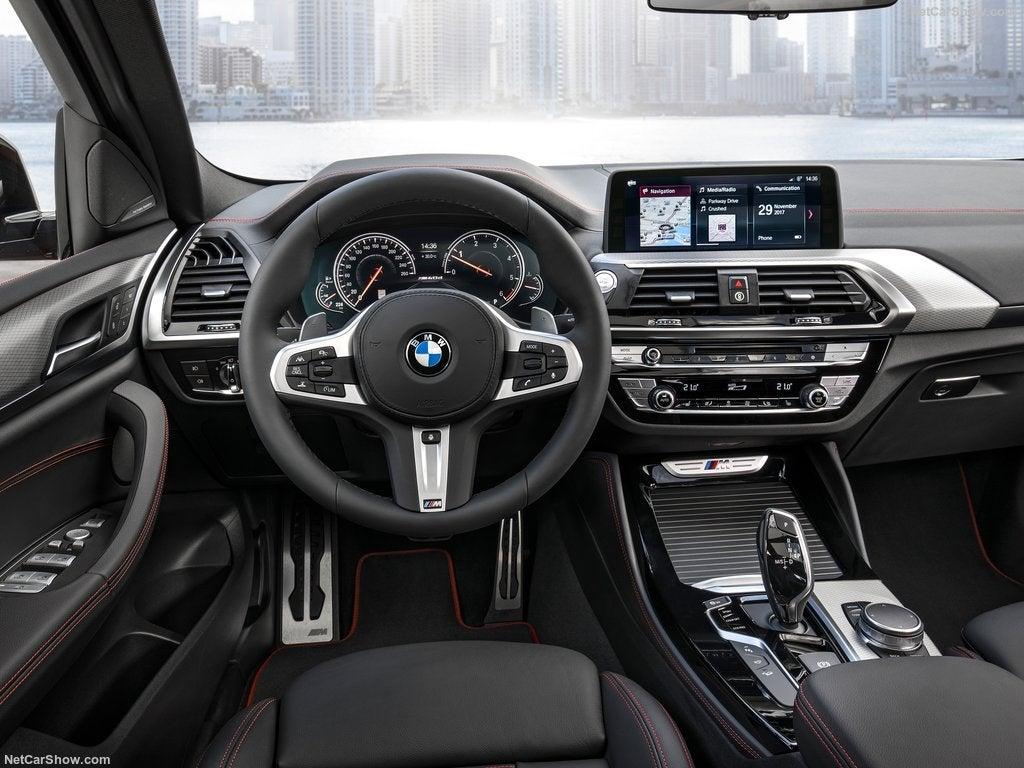 BMW X4 2018: interior