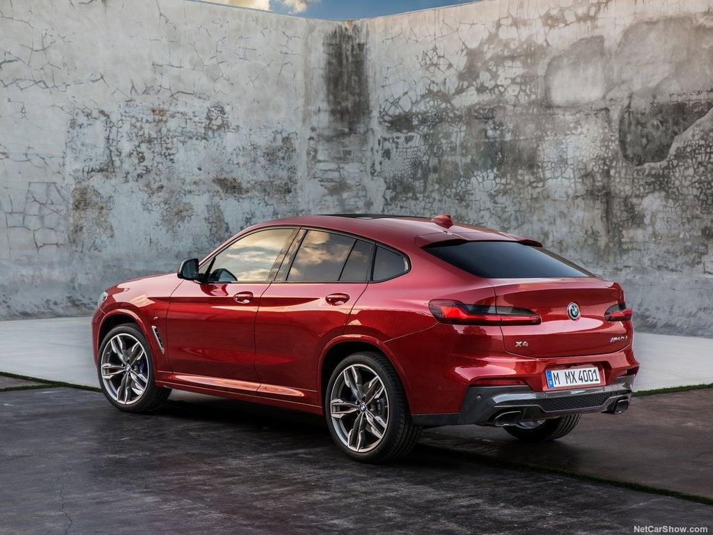 BMW X4 2018: trasera