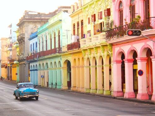 Coches clásicos cubanos