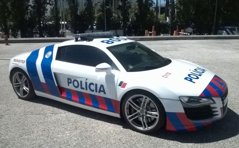 Coches de la policía.