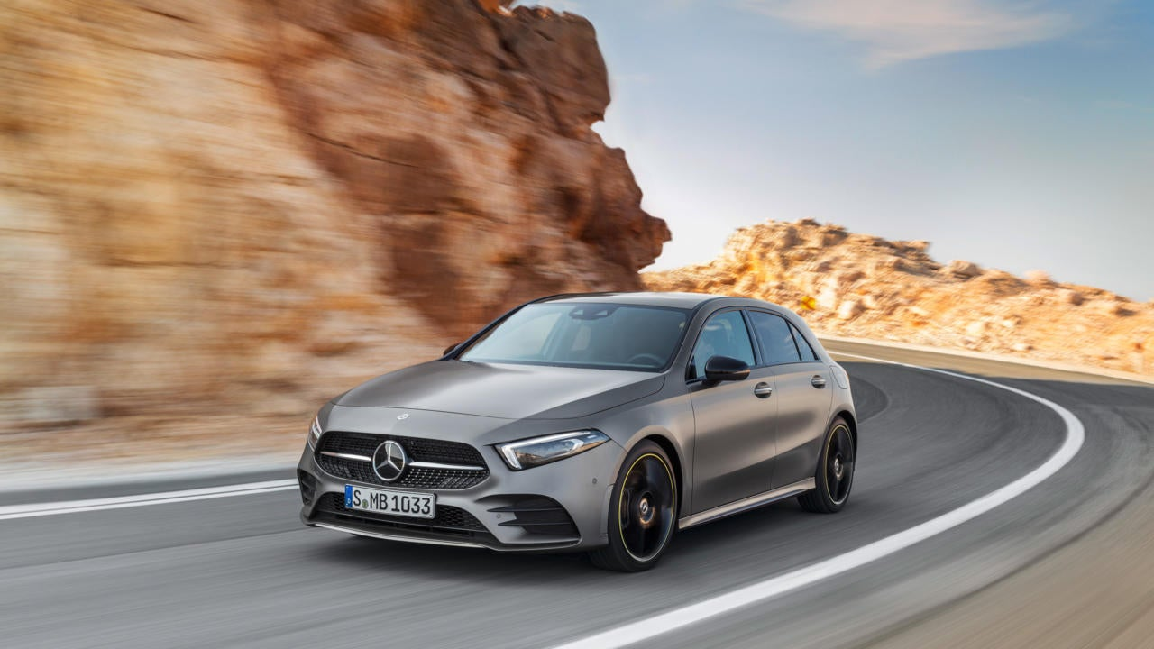 Compacto Mercedes Clase A 2018: frontal