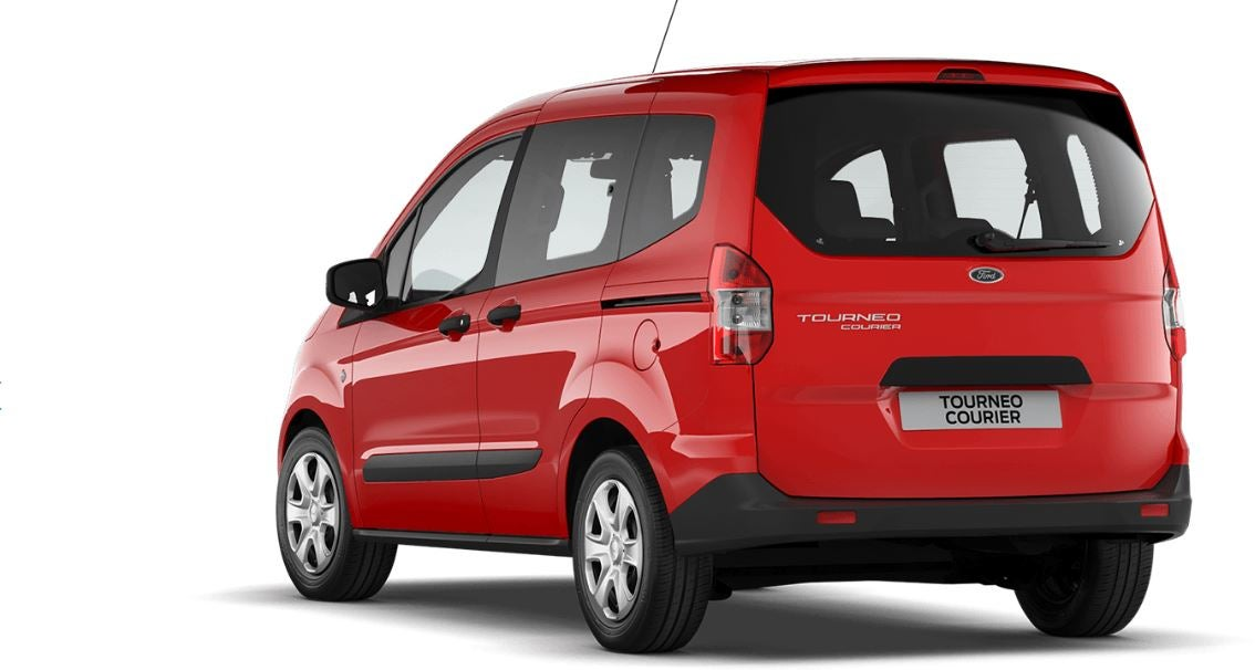 Diseño del Ford tourneo Courier.