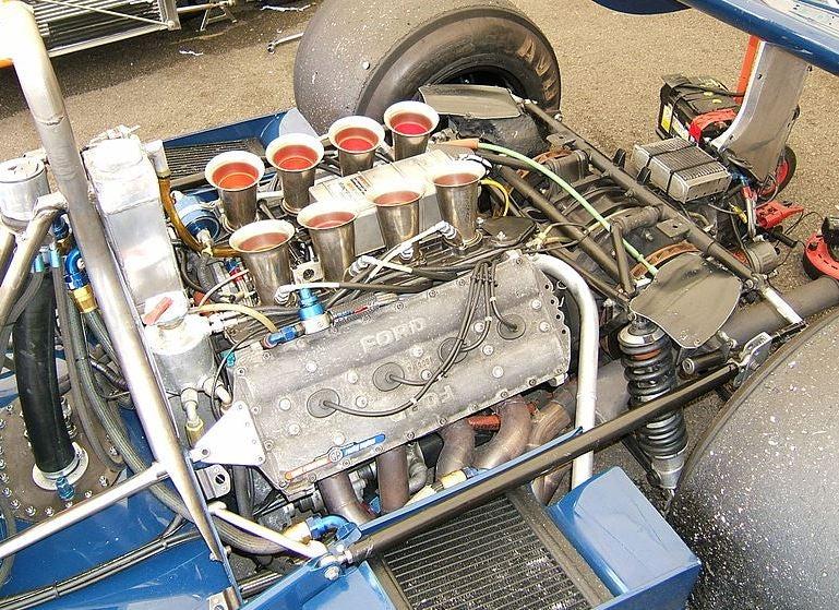 Ford-Cosworth DFV, el propulsor que motorizó a la Fórmula 1