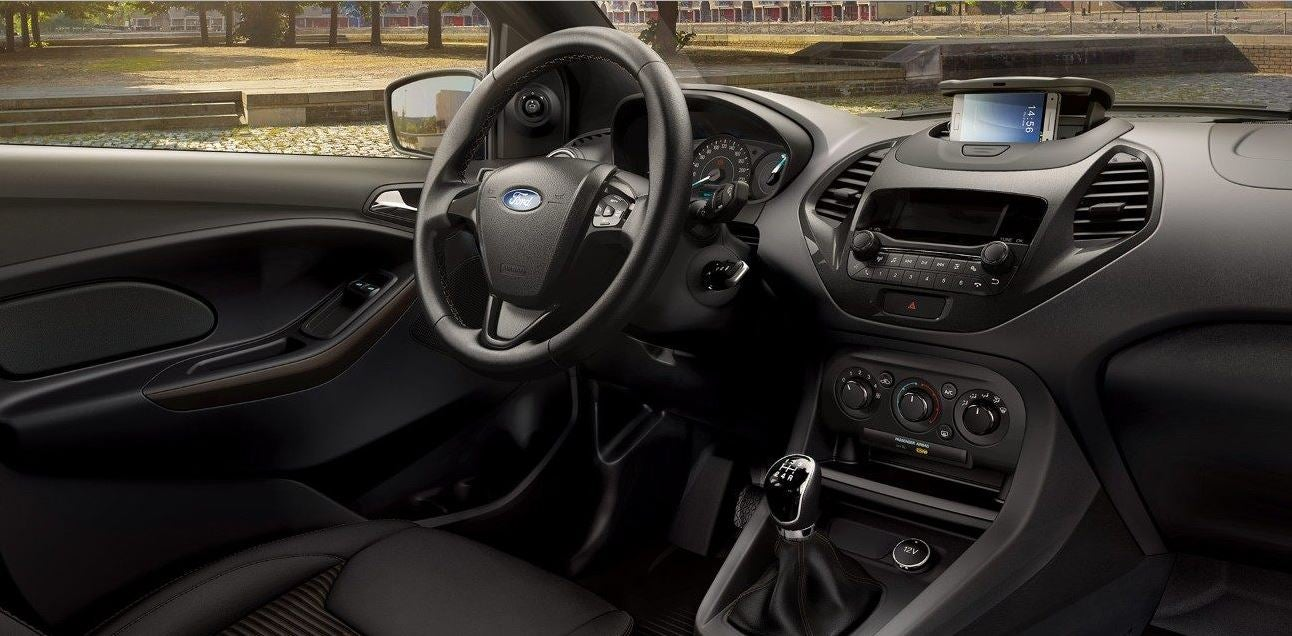 Interior del Ford Ka+.