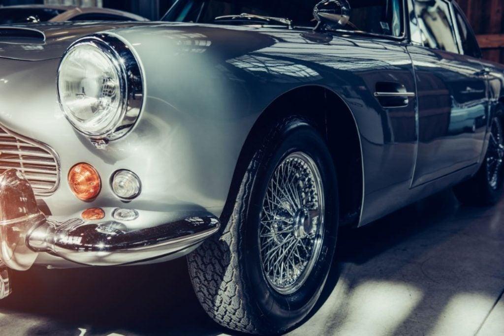 La ITV de un coche clásico