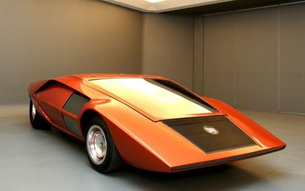 Lancia Stratos prototipo.