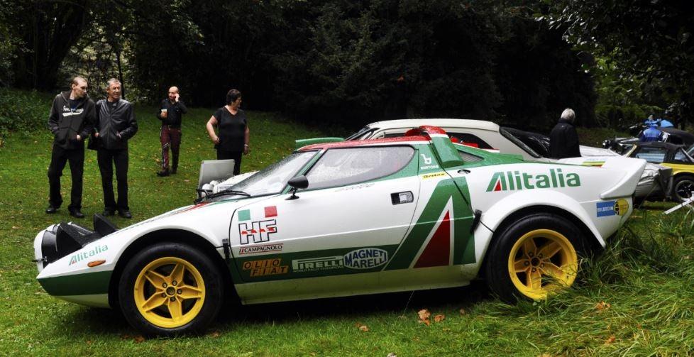 Lancia stratos Rally coche.