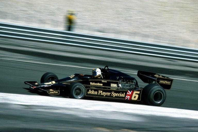 Lotus 78, el precursor del efecto suelo