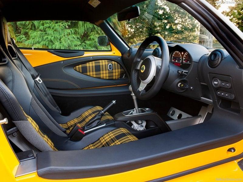 Lotus Exige Sport 350: interior