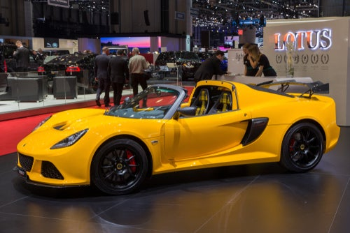 Lotus Exige Sport 350: lateral