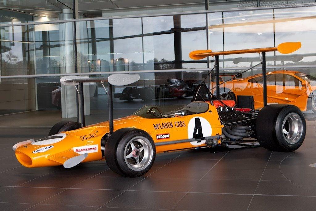McLaren M7A Cosworth, un 'pedacito' de historia de Woking