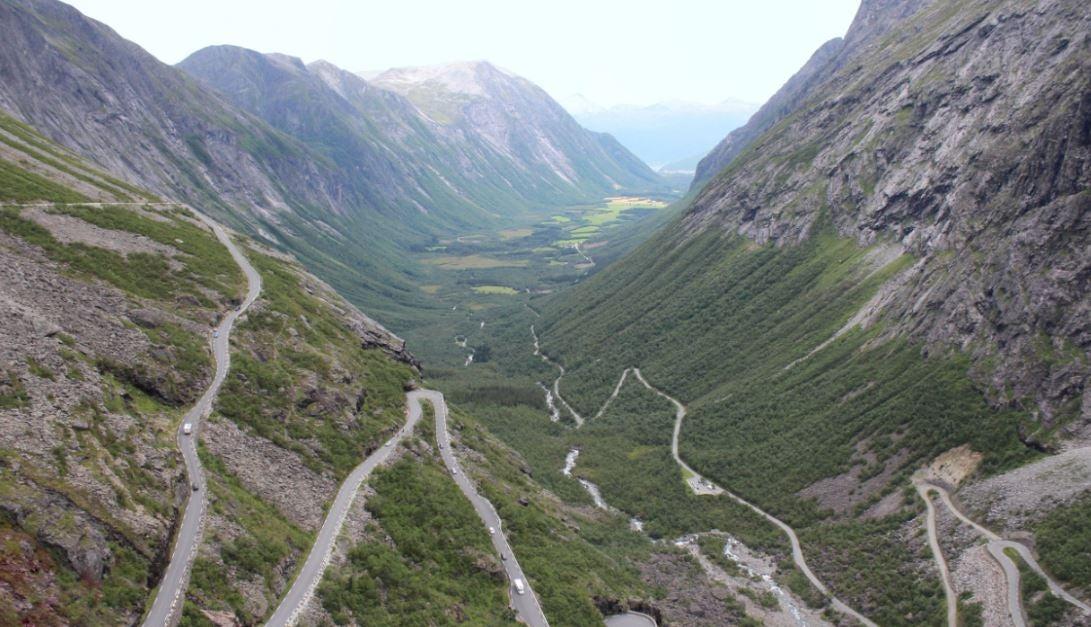 Mejores carreteras de Europa.