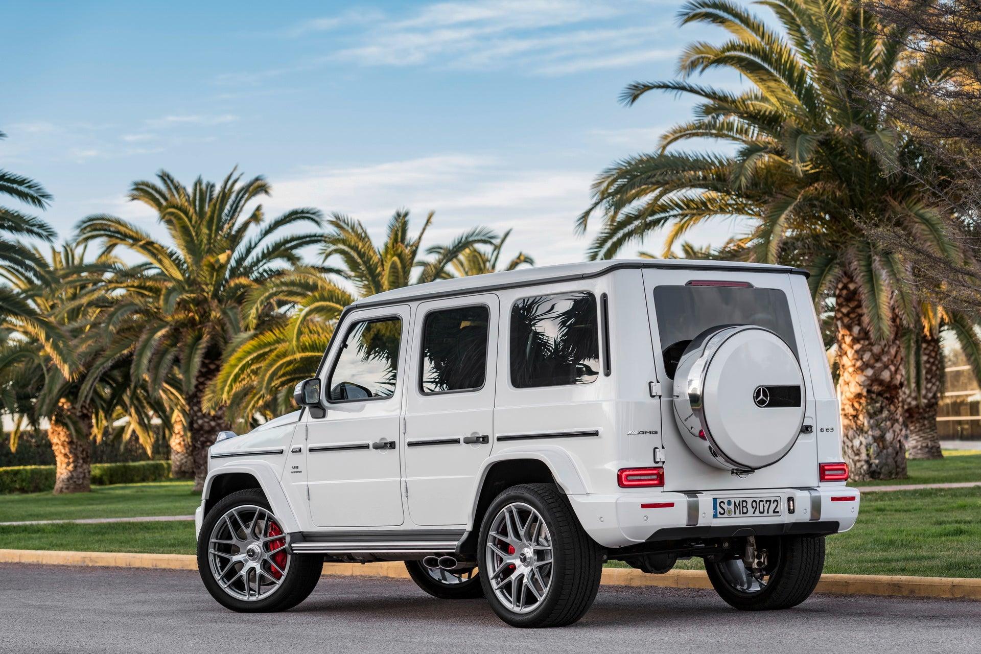 Mercedes-AMG G 63 2018: trasera