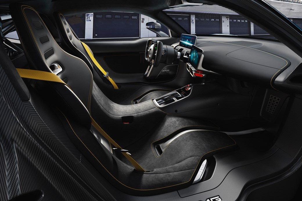 Mercedes-AMG Project One: interior