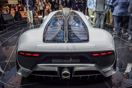 Mercedes-AMG Project One: trasera