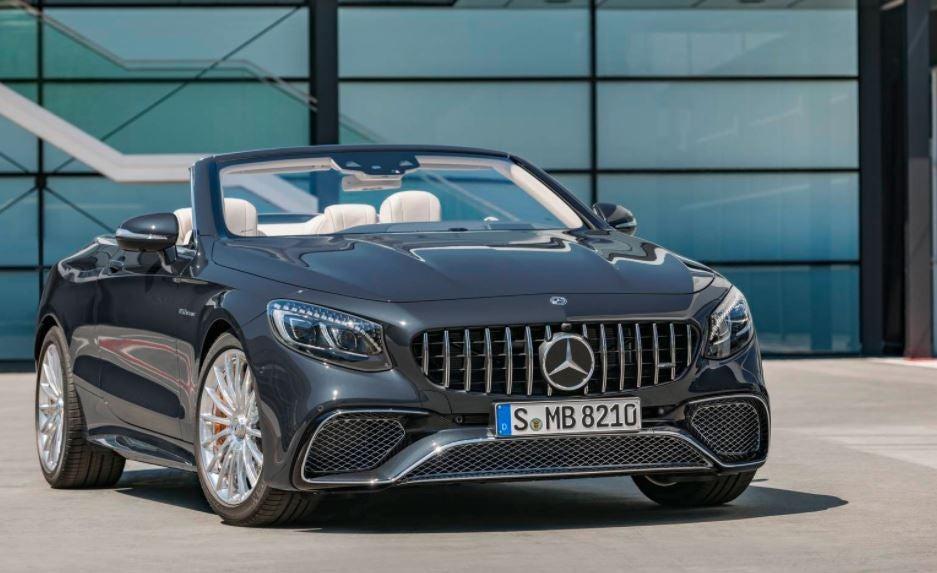 Mercedes-AMG S Cabrio.