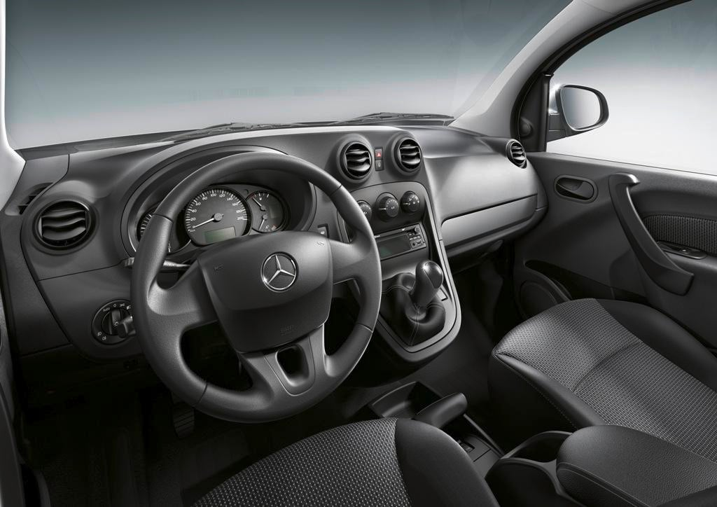 Mercedes Citan: interior