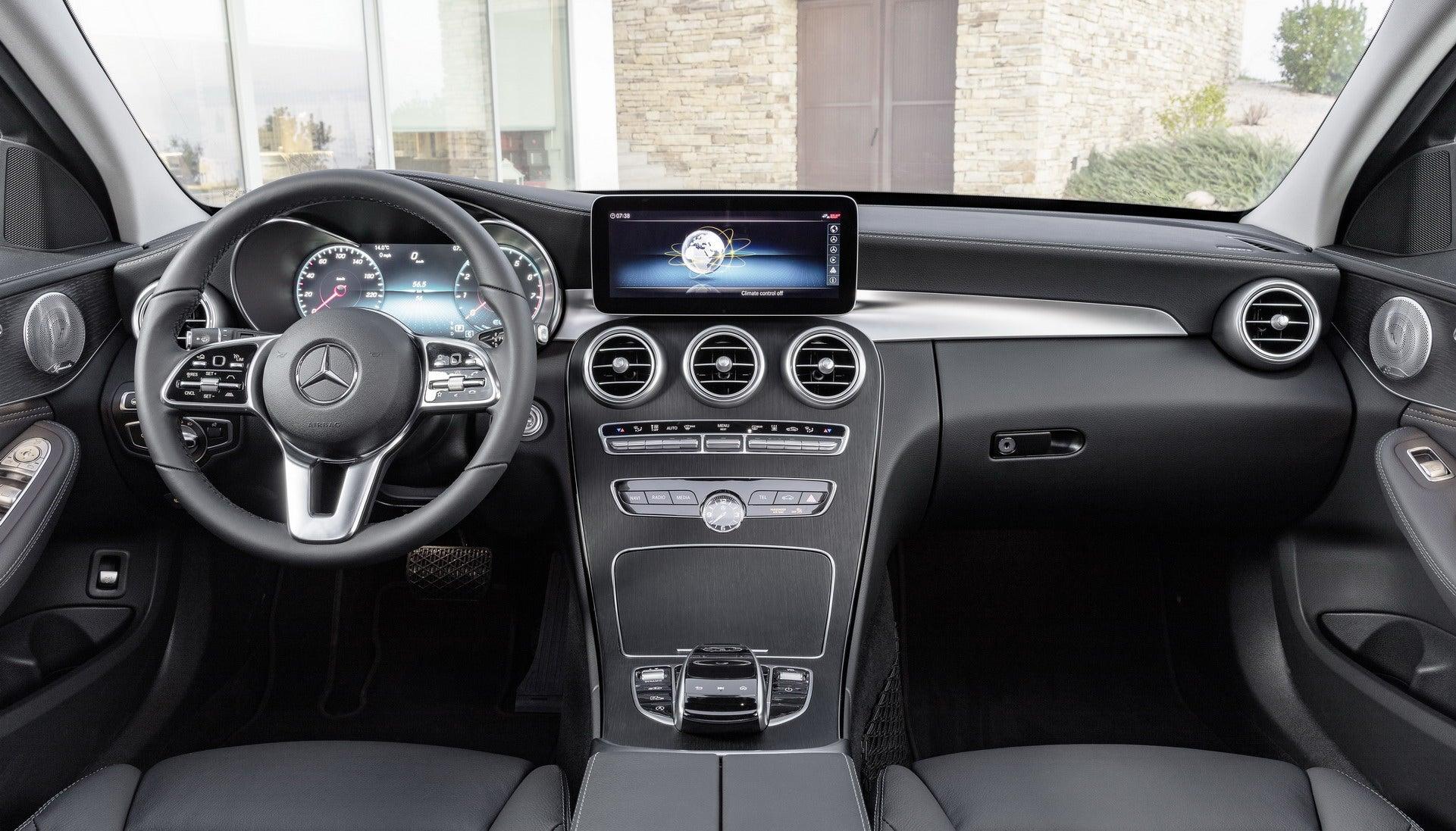 Mercedes Clase C 2018: interior