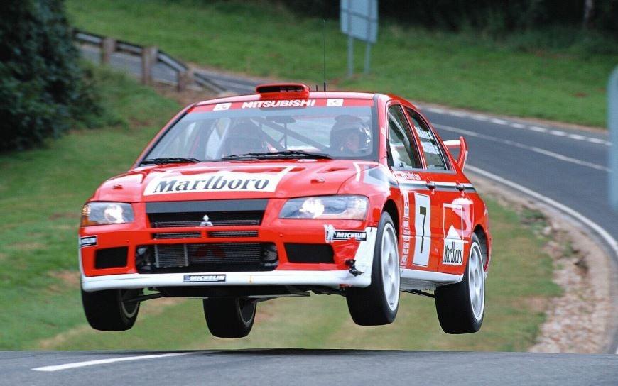 WRC: Mitsubishi Lancer