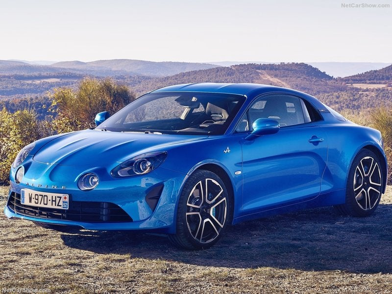 Renault Alpine A110: frontal