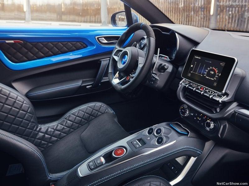Renault Alpine A110: interior