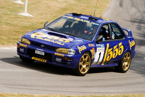 Subaru Impreza 555 rally