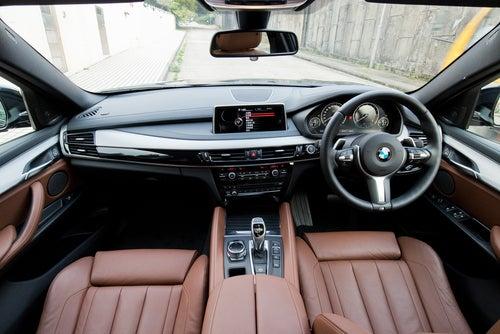 Todocaminos: interior del SUV BMW X6 M