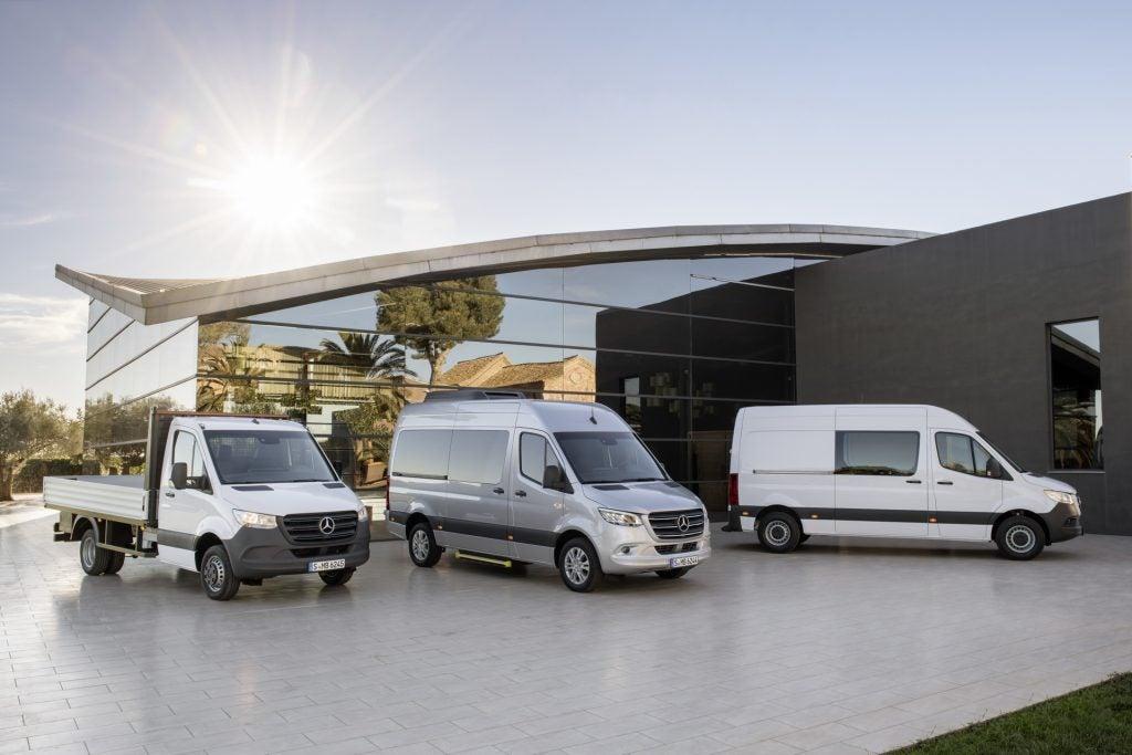Mercedes Sprinter 2018, el comercial más tecnológico del mercado