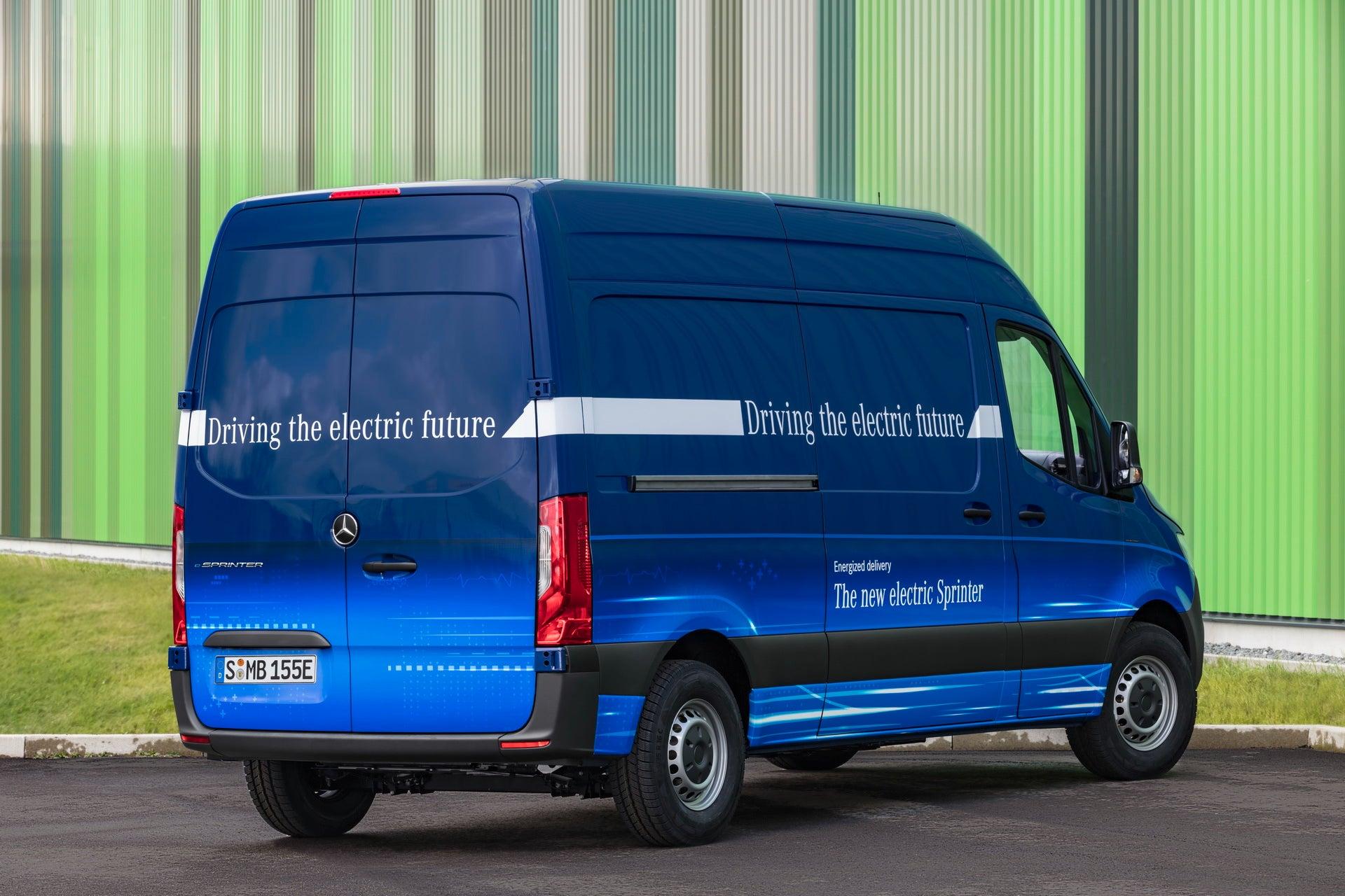 Vehículos industriales: Mercedes Sprinter eléctrica