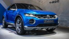 Volkswagen T-Roc: frontal
