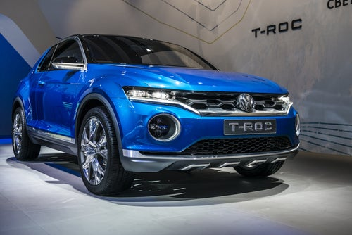 Volkswagen T-Roc: el posible sustituto del Golf