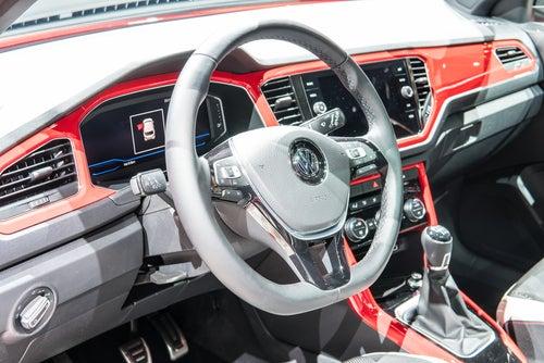 Volkswagen T-Roc: interior