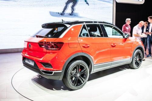 Volkswagen T-Roc: trasera
